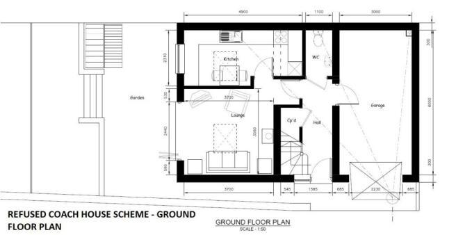 REFUSED COACH HOUSE SCHEME - GROUND FLOOR PLAN.jpg