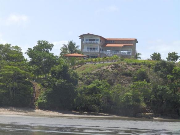 View from beach