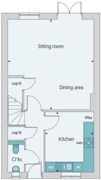 Floor Plan - GF