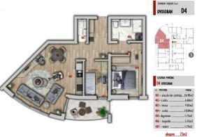 Two bedroom D4