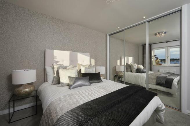 Affric Master Bedroom Show Home Image