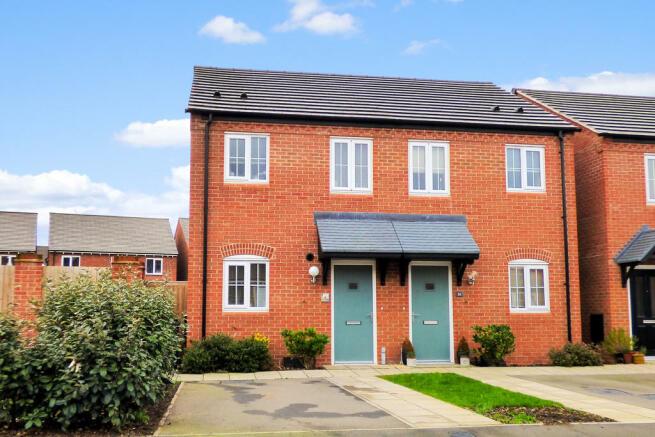 2 bedroom semi-detached house for sale in Sutton Crescent, Barton