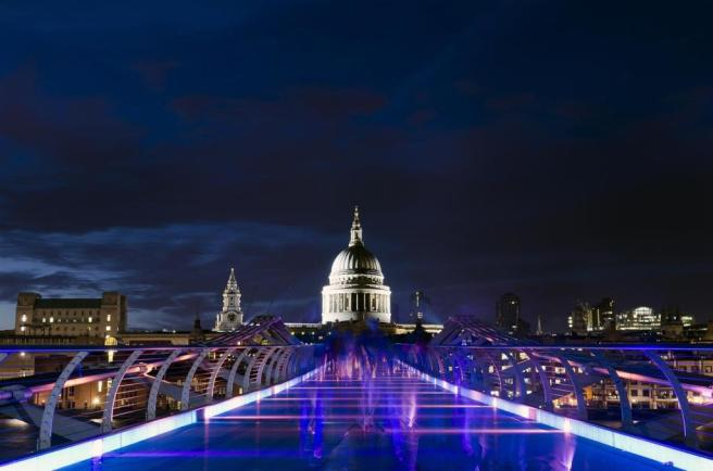 St. Paul's Cathedral taken from the Millennium bri