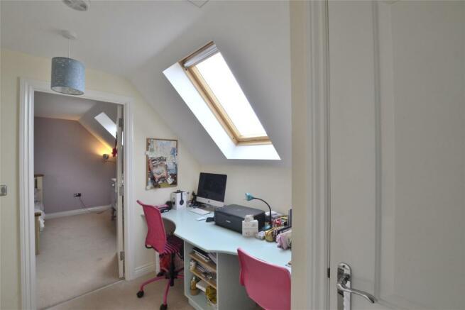Top floor study area