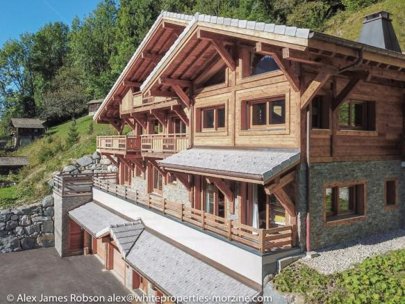 A Finished Chalet