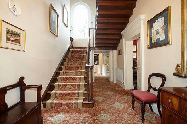Hall and staircas...