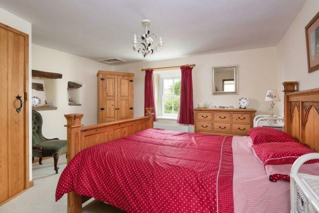 Mid Farm, Bedroom ...