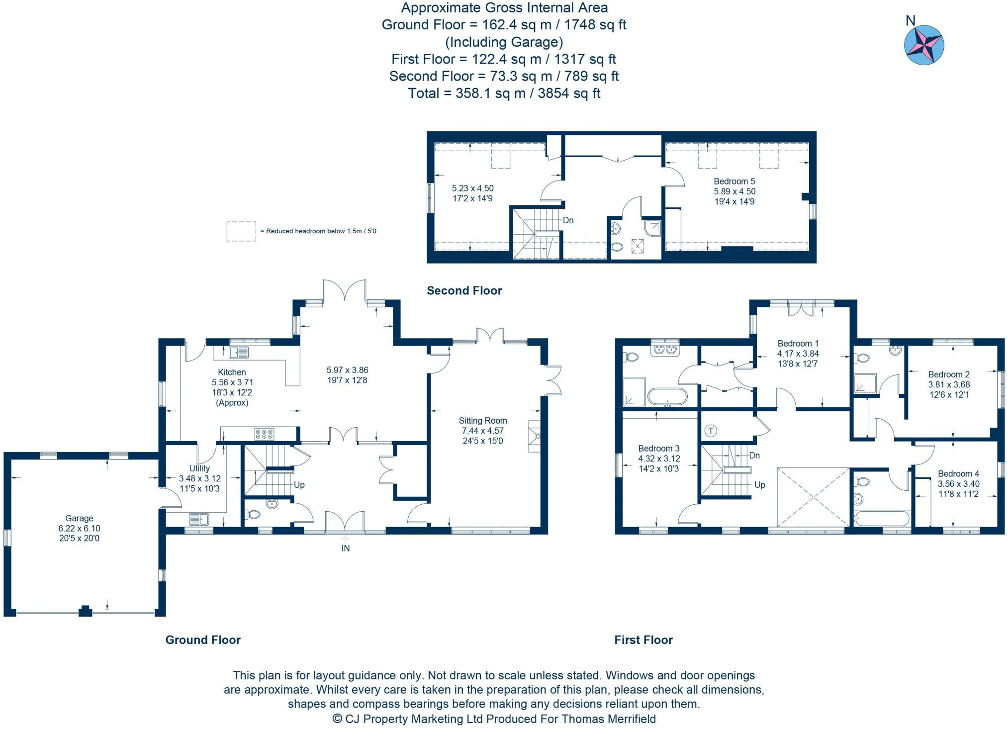 5 Bedroom Detached House For Sale In Princes Farm Longworth Ox13 Princess Stove Wiring Diagram