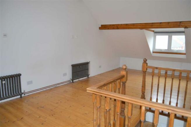 Bedroom three / attic room