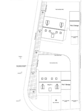 Land For Sale In Two Building Plots Highfield Road Clipstone Ng21
