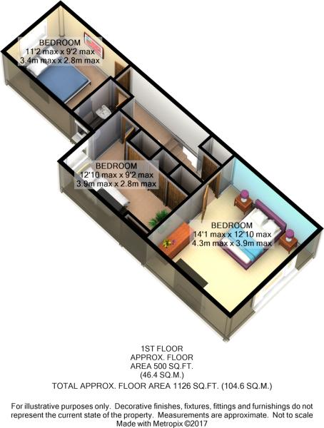 Floorplan 1 3D