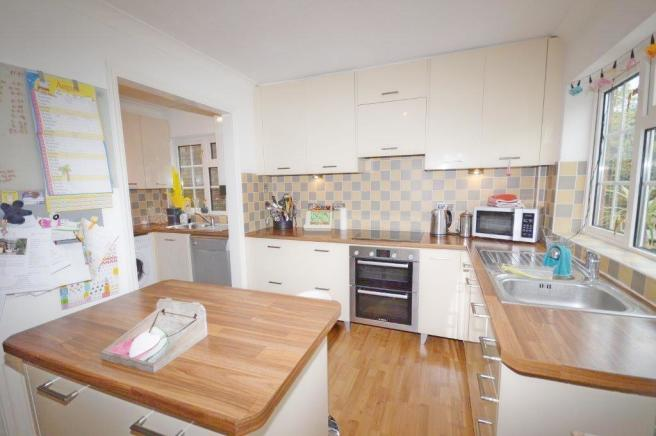 Kitchen of property
