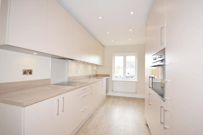 Kitchen of house to
