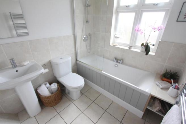 Refitted bathroom to front