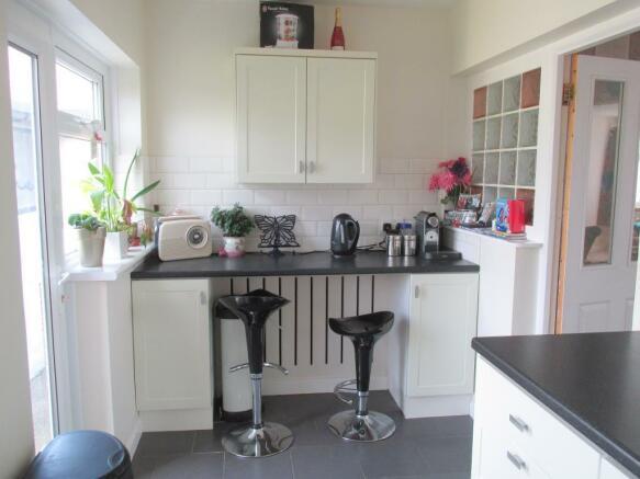 Breakfast Area of Kitchen