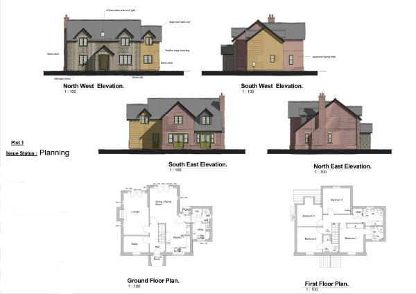 Plot 1 Floor Plans