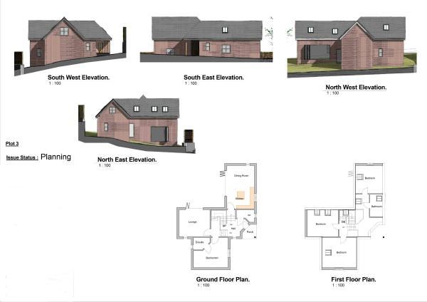 Plot 3 Floor Plans