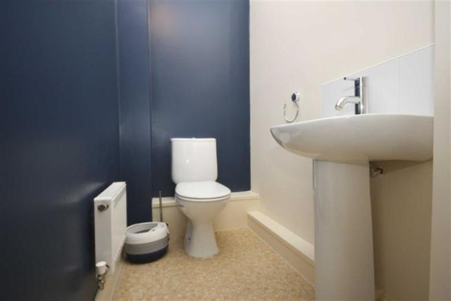 Downstairs Cloakroom.