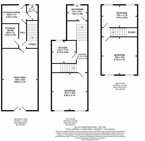 8a Leytonstone Road E15 1SE            FLOORPLAN.J