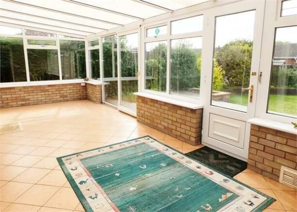 UPVC double glazed conservatory