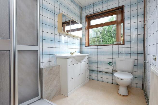 Shower room former bathroom