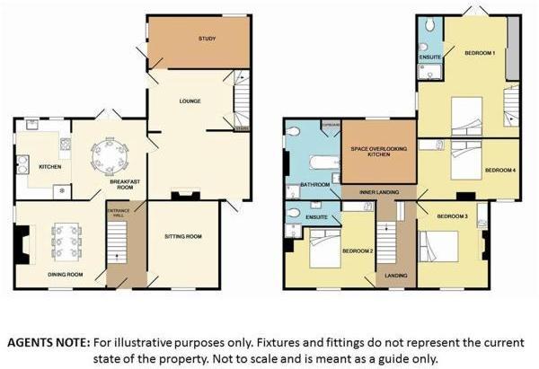 4 bedroom detached house for sale in Vine Street, Billingborough