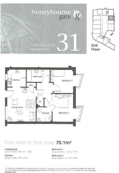 Apt 31 Floor Plan