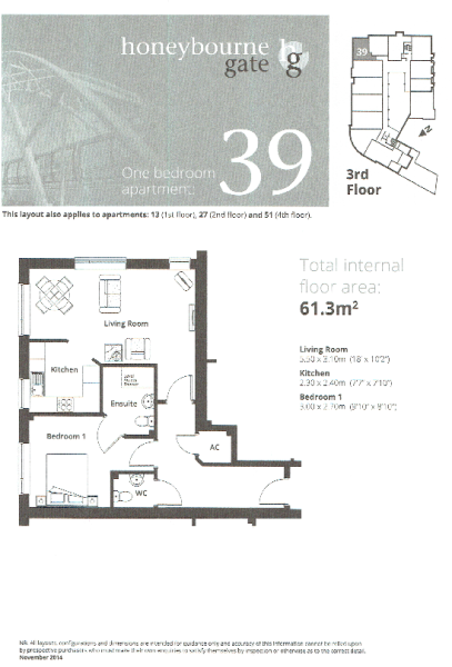 Apt 39 Floor Plan