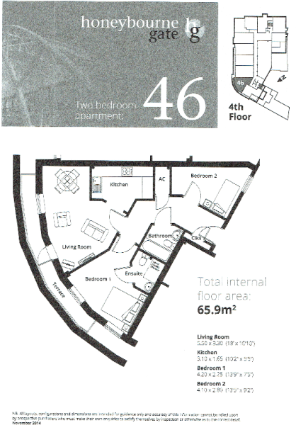 Apt 46 Floor Plan