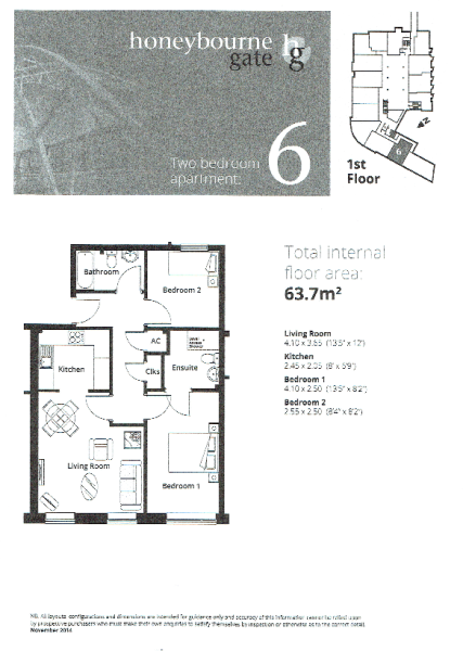 Apt 6 Floor Plan