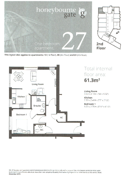 Apt 27 Floor Plan