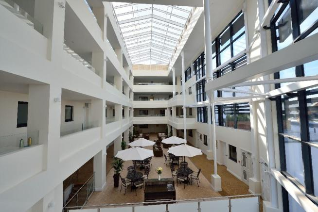 Atrium south view