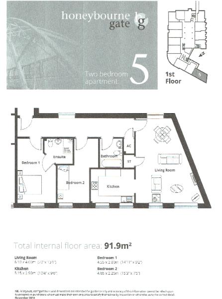 Apt 5 Floor Plan