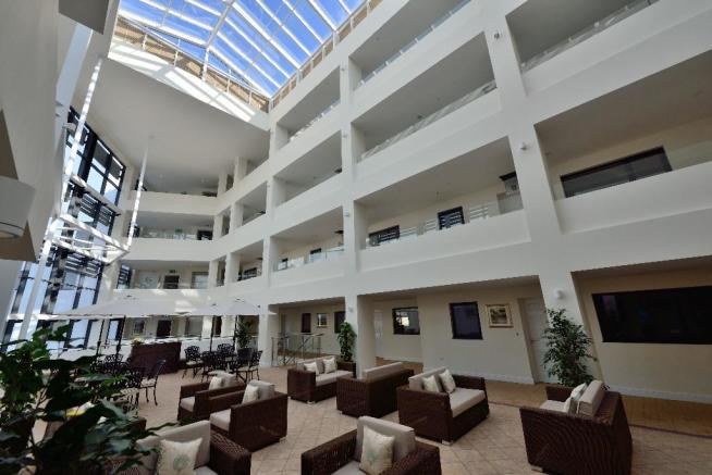 Atrium north view