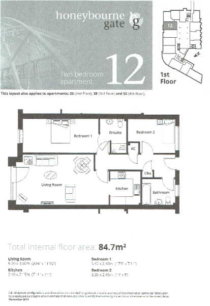 Apt 12 Floor Plan