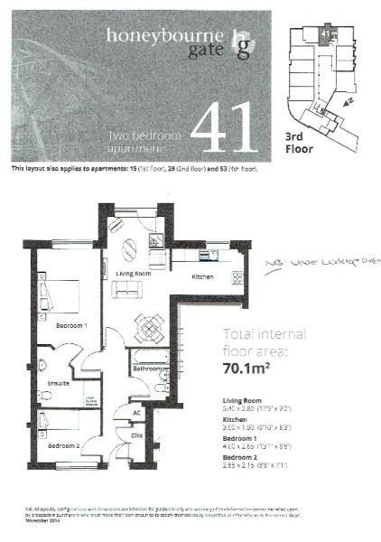 Apt 15 Floor Plan