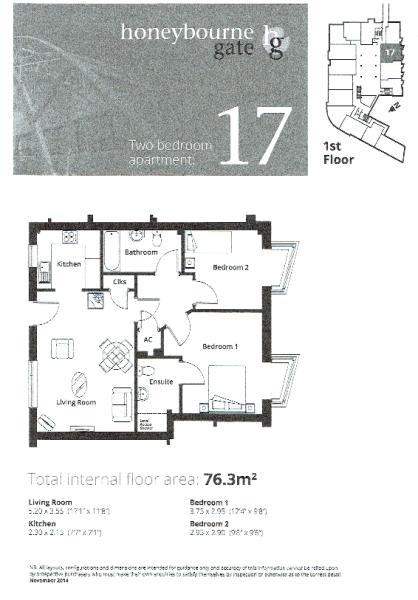 Apt 17 Floor Plan