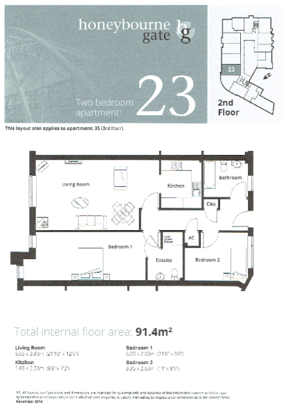 Apt 23 Floor plan