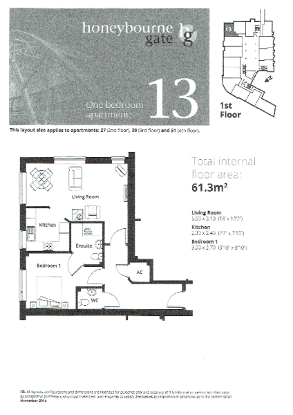 Apt 12a Floor Plan