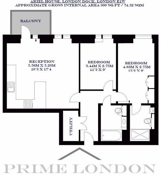 2 bedroom apartment to rent in Ariel House, 144 Vaughan Way, London on christmas story house floor plan, frodo baggins house floor plan, gatsby house floor plan, incredibles house floor plan, barbie house floor plan,
