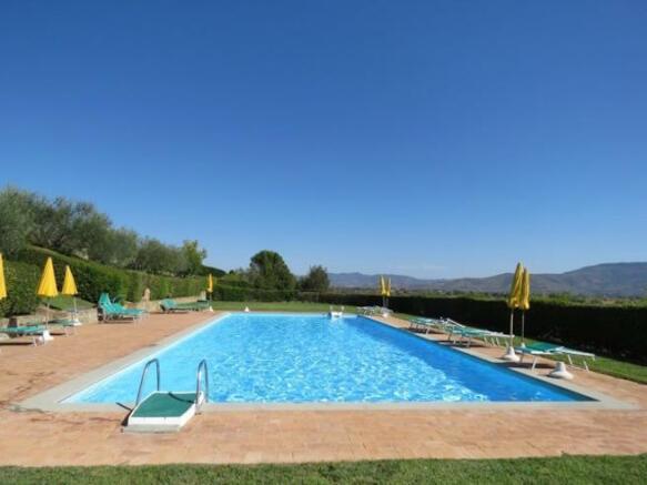 Communal big sw pool