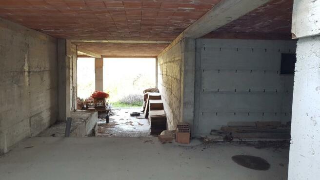 Basement into garage