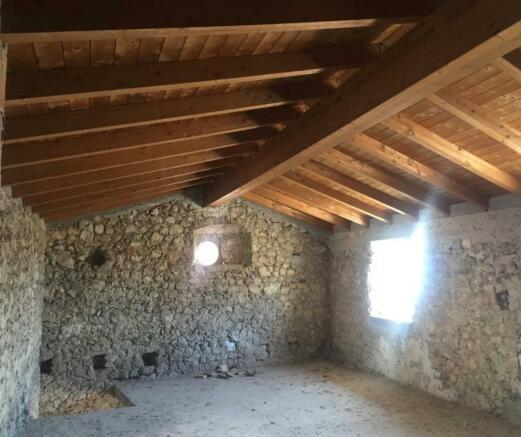 New chestnut ceiling