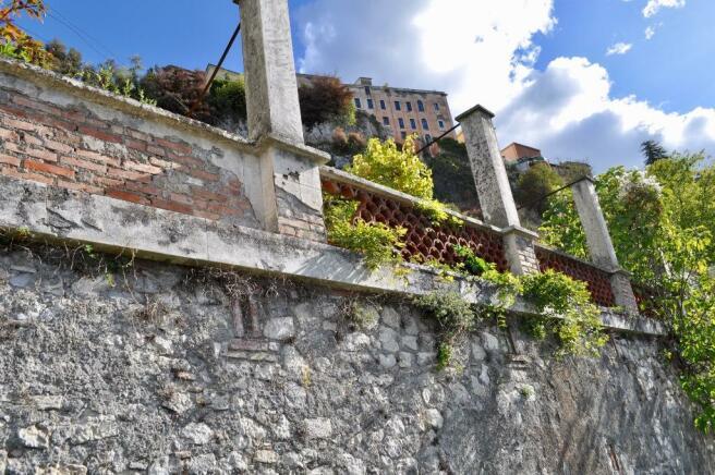 The garden portico