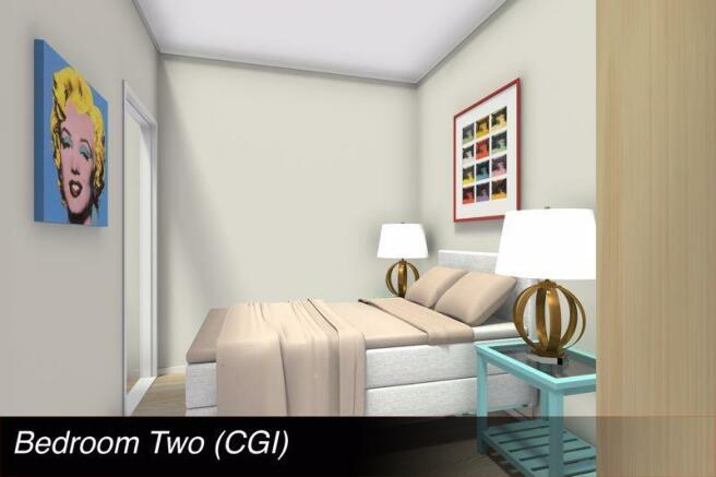 Bedroom Two CGI