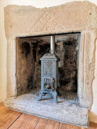 Landing Fireplace