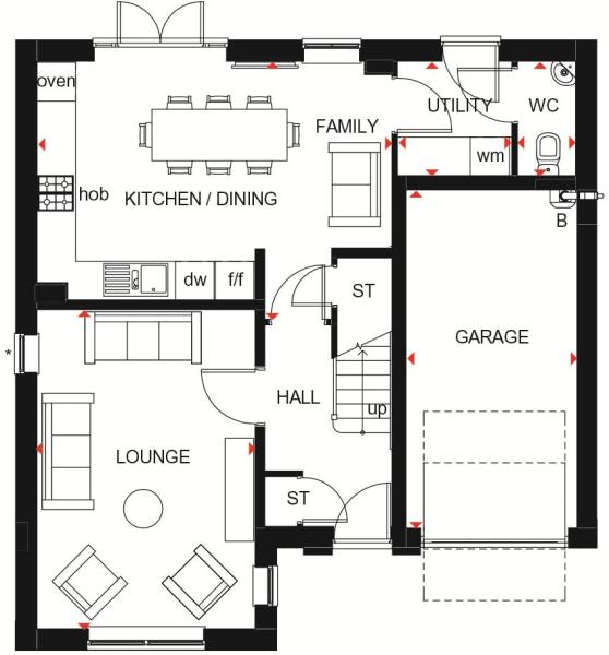 Halton ground floor plan