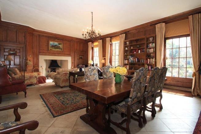 Magnificent panelled Living Room
