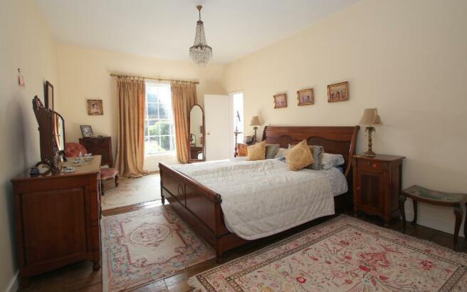 Impressive Master Bedroom with wardrobes