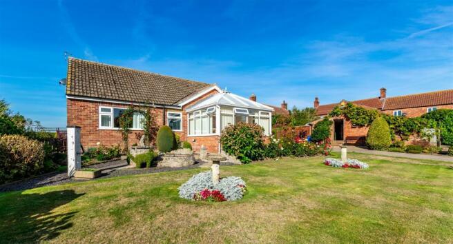 Front aspect & garden